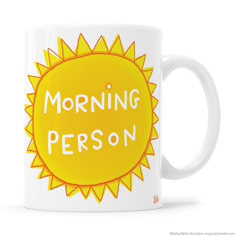 Morning Person Sunshine Mug