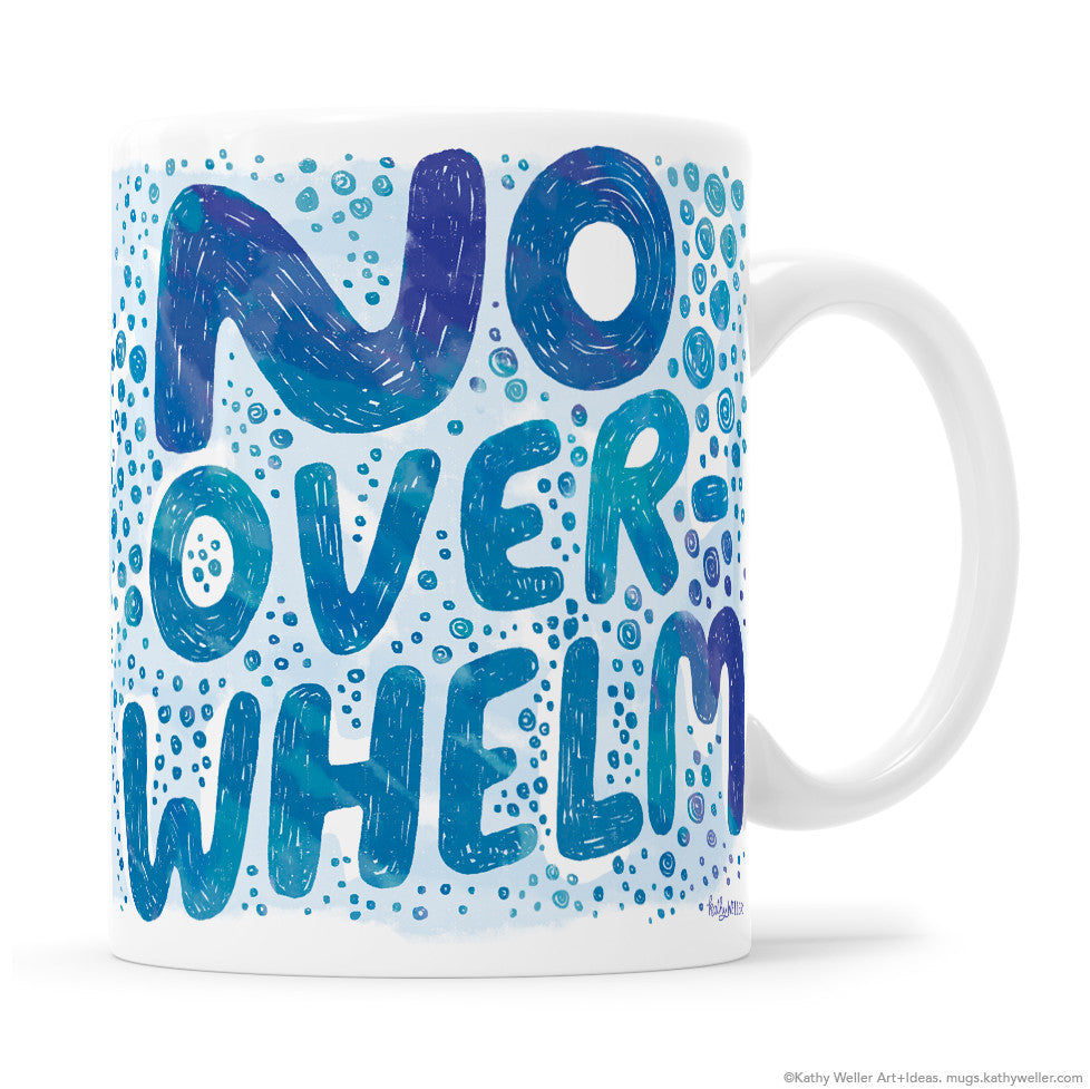 No Overwhelm Calming Mug