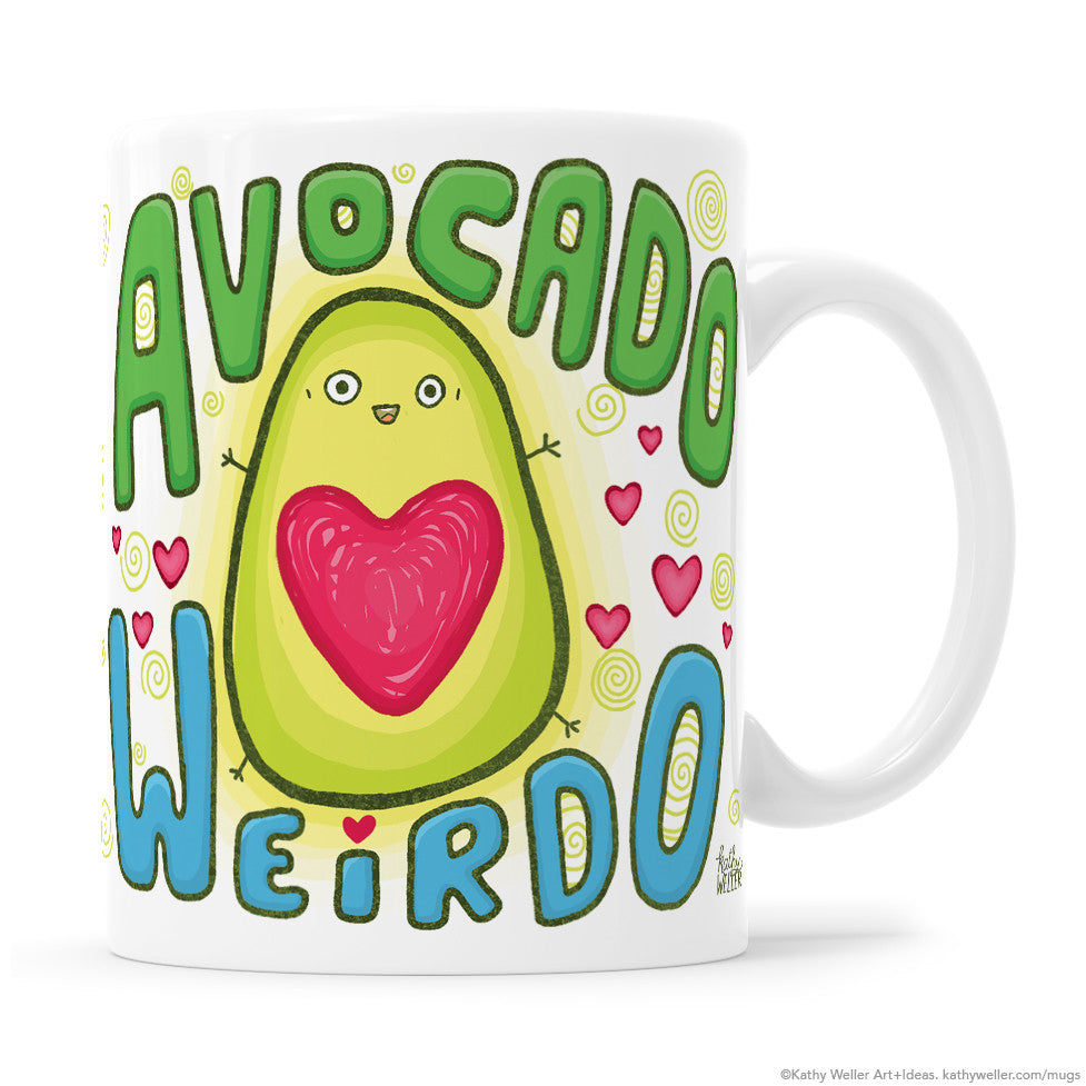 Avocado Weirdo BLUE-GREEN