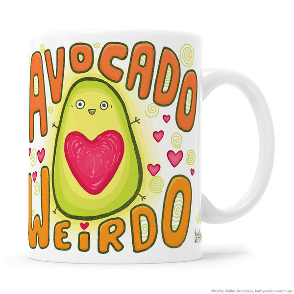 Avocado Weirdo ORANGE