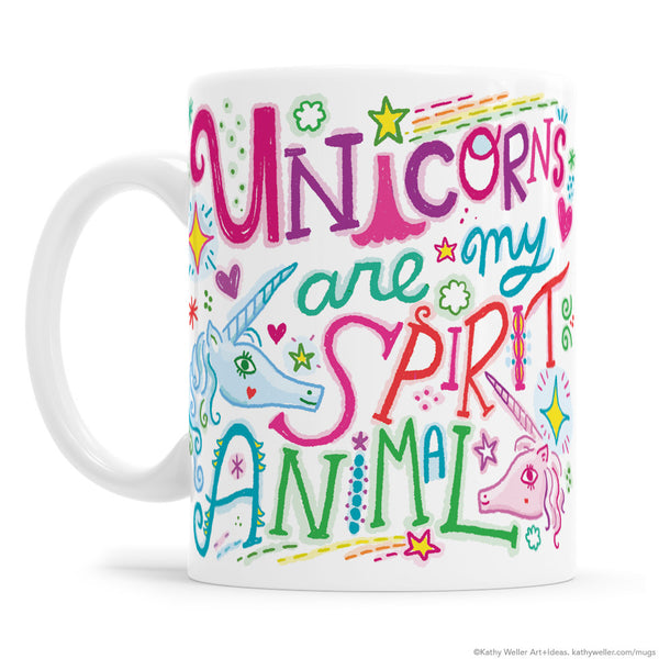 Unicorns Are My Spirit Animal Mug