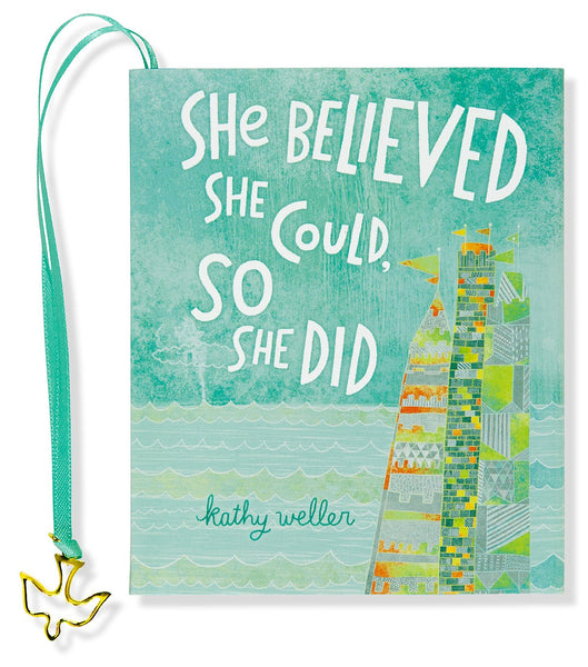 She Believed She Could, So She Did Mini-Book