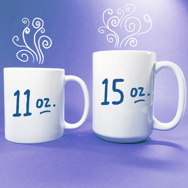 AQUARIUS Zodiac Astrology Series Hand Lettered Mug