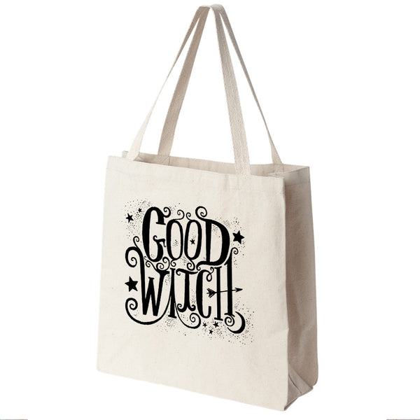 Good Witch Canvas Tote