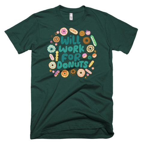 Will Work For Donuts T-Shirt