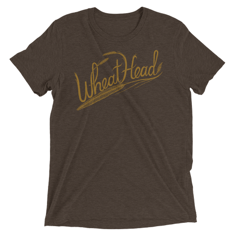 Wheat Head Short Sleeve Triblend Unisex T-Shirt