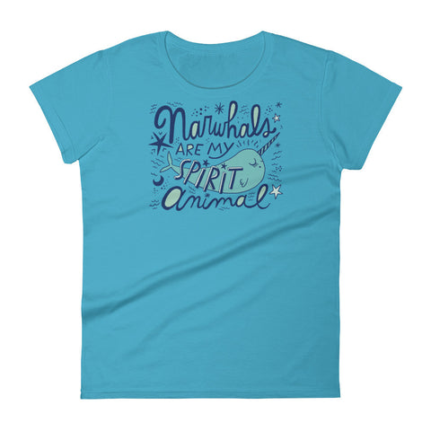 Narwhals Are My Spirit Animal T-shirt