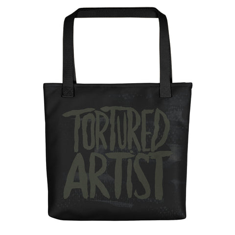Tortured Artist Black Tote