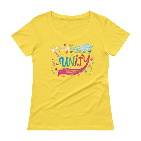 Unity Ladies' Scoopneck T-Shirt