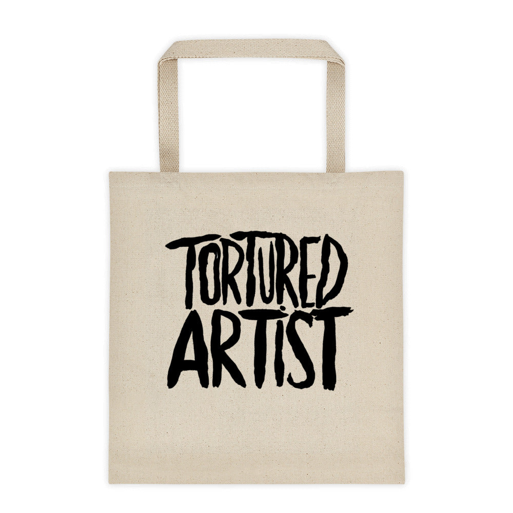 Tortured Artist Canvas Tote