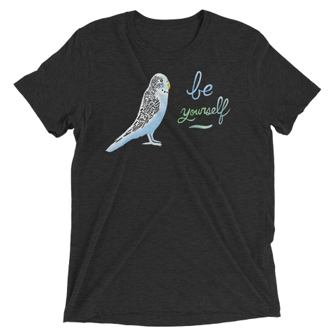 Parakeet Be Yourself Triblend Unisex T-Shirt