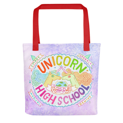 Unicorn High School Color Tote