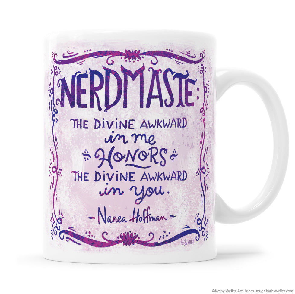 Nerdmaste Mug - A collaboration with Sweatpants & Coffee !