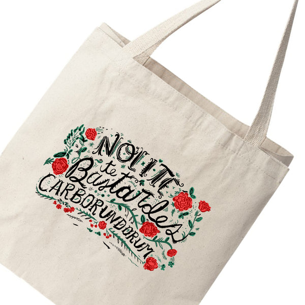 Nolite Te Bastardes Carborundorum, The Handmaid's Tale-inspired Canvas Tote