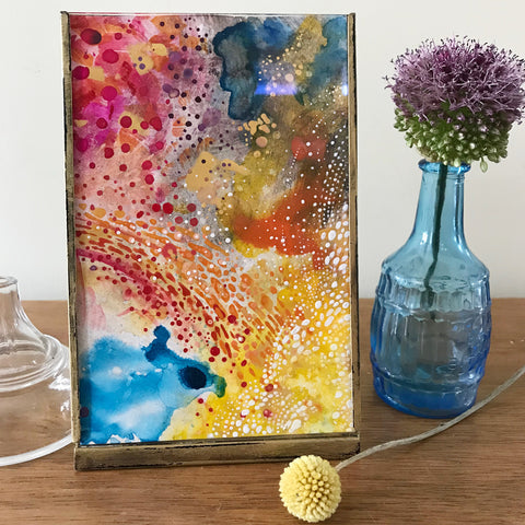 Optimism original art painting