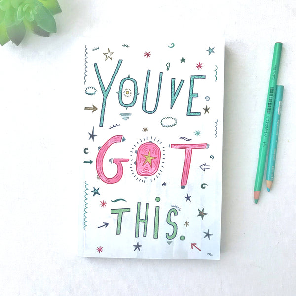 You've Got This Blank Journal - Dot Grid