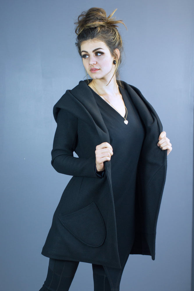 Valkyrie hooded coat