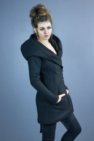 Size 12 Valkyrie hooded coat