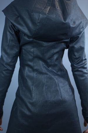 Valkyrie hooded coat-water resistant