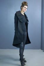 Asgard triple collar coat