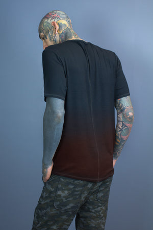 Halo essential tee - black gradient