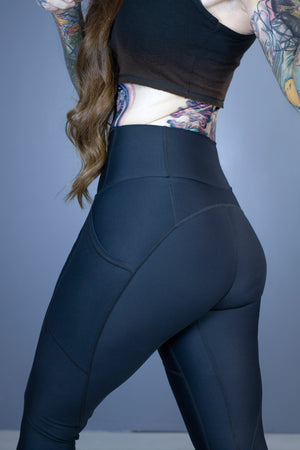 Siren leggings-soft black
