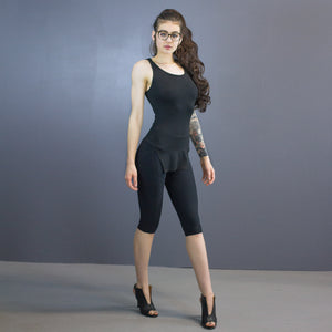 Fox leggings - capri length