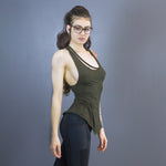 Adeia detached neckline tank
