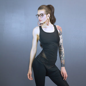 Taylor fitted tank - mesh detail