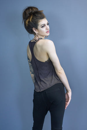 Sutton relaxed fit tank - musk dyed