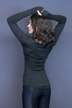 Edana sweater - scooped neck