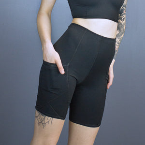 Tegan x-pocket bike shorts