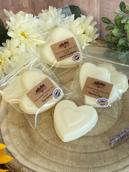 SALE! Signature Heart Melts $2.50