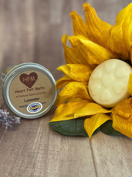 Solid Lotion Bars $5.95