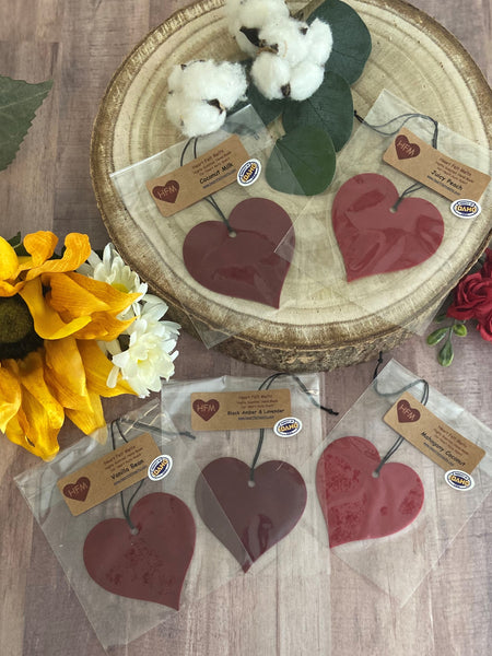 Car Heart Air Fresheners $2.95