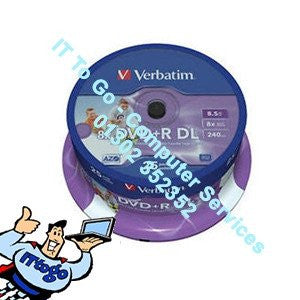 Verbatim 10x DVD+RW 4.7gb 4x Speed - IT To Go - Computer Services