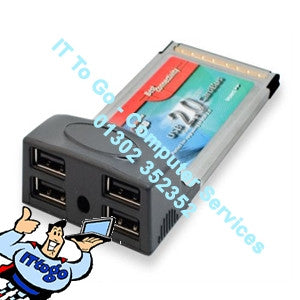 Best Connectivity PCMCIA - 4x USB Card - IT To Go - Computer Services