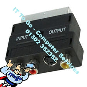 Phono - Scart Adapter - IT To Go - Computer Services