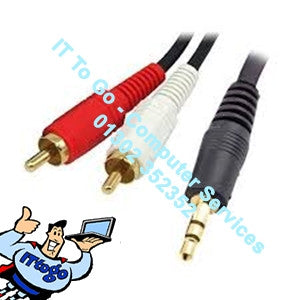 3.5 to Phono Audio Cable - IT To Go - Computer Services