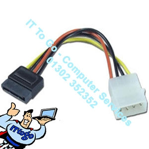 Double SATA Power Cable - IT To Go - Computer Services
