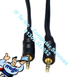 Standard 3m 3.5 1x Male - Male Cable - IT To Go - Computer Services