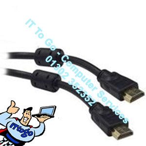 Standard 1m HDMI Male - HDMI Male Cable - IT To Go - Computer Services