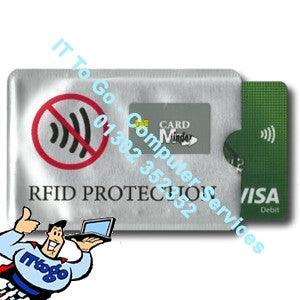 RFID Protection Wallet Card Minder - IT To Go - Computer Services