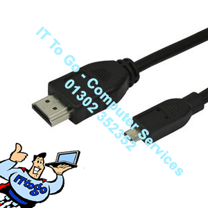 0.2m Mini HDMI Male - Micro HDMI Male Cable - IT To Go - Computer Services