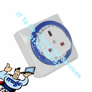 Status 24 Hr Plug In Manual Timer - IT To Go - Computer Services