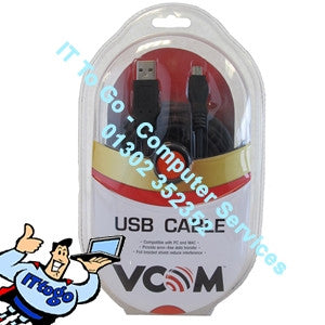 Vcom 3m A/Mini Cable - IT To Go - Computer Services