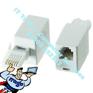 Masterplug Modem Rj11 to Modem Adapter Kit - IT To Go - Computer Services