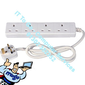 4 Socket 5m Mains Extension Socket - IT To Go - Computer Services