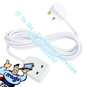 1 Socket 5m Mains Extension Socket - IT To Go - Computer Services