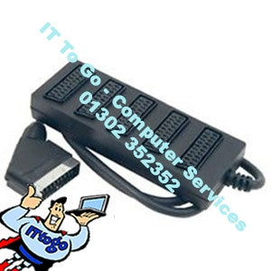 4 Port Scart Adapter - IT To Go - Computer Services